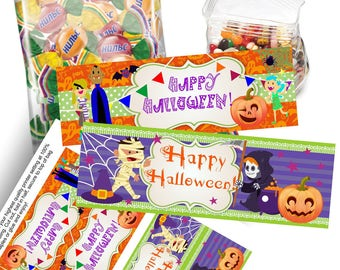 Halloween bag toppers printable halloween treat bag toppers Halloween treat bag toppers halloween bag toppers Halloween treat bag toppers