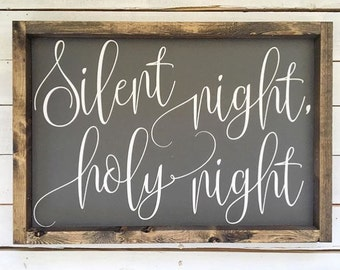 """Silent Night, Holy Night 