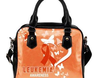 Leukemia Awareness Shoulder Bag / Handbag