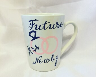 Customizable future Mrs. Mug