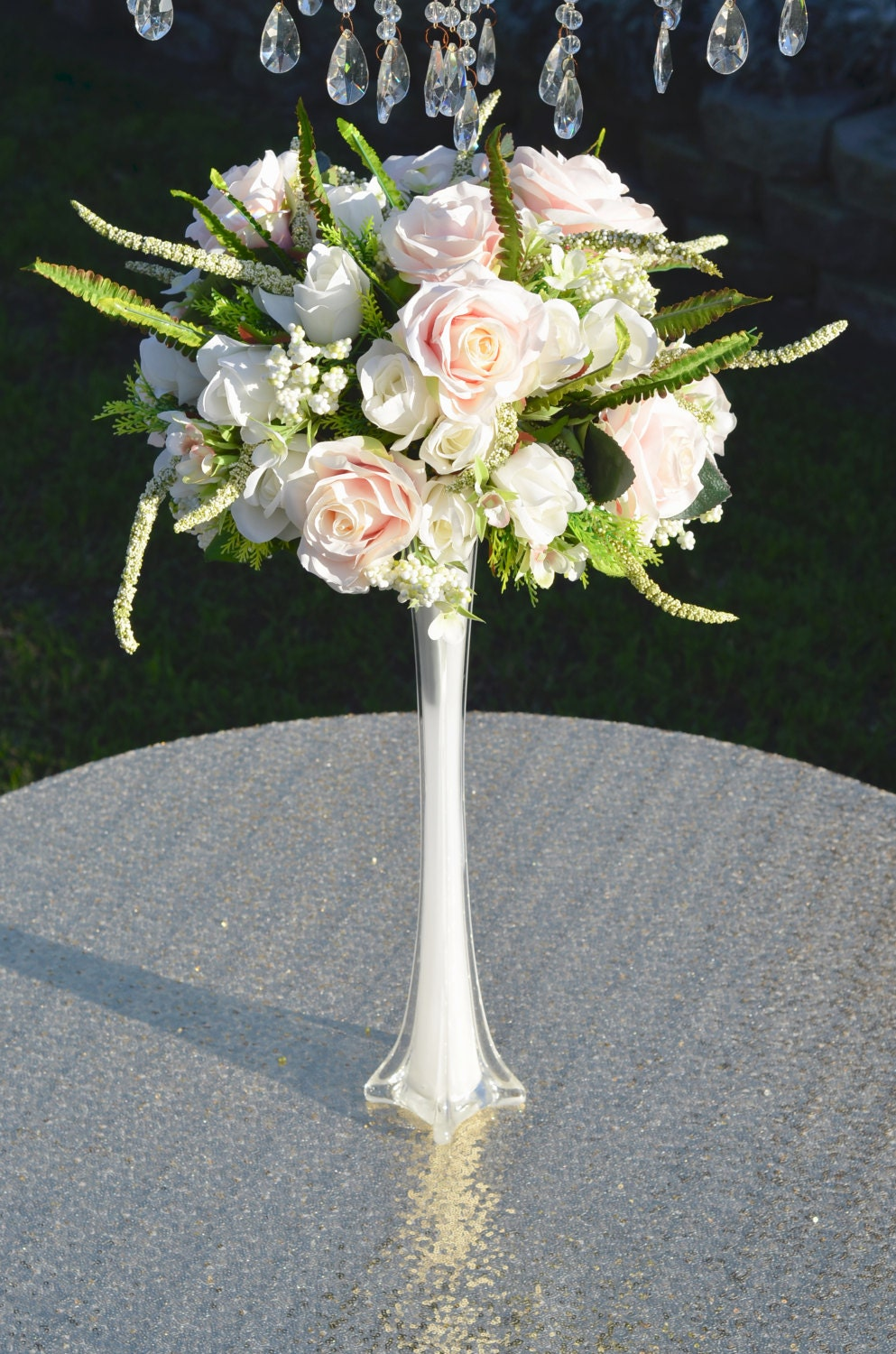 Flower Arrangements Wedding Centerpieces Tall Vases