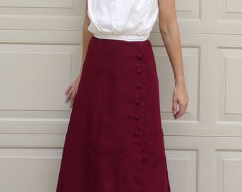 WHITE EDWARDIAN BLOUSE layering sleeveless back button xs S