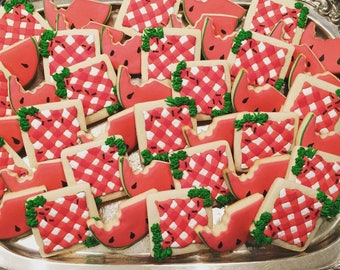 Picnic Sugar Cookies - ONE Dozen