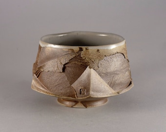 """Wood fired Matcha Chawan """"Discovery"""", Tea Bowl for Japanese Tea Ceremony by Mikhail Tovstous.FREE SHIPPING!"""