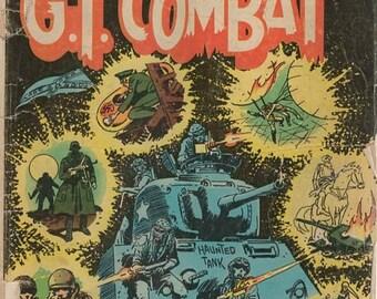 BTS G. I. Combat  Vol. 25 No. 204 Oct Nov 1977 Dc Comic Book