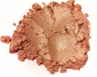 TEA ROSE Mineral Eye Shadow - Natural Makeup - Gluten Free Vegan Face Color