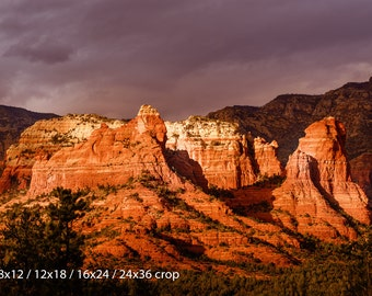 Sedona Red Rocks aBlaze