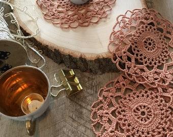 Copper Coasters Set of 4
