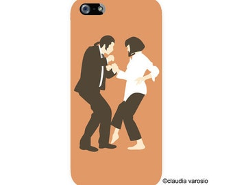 Pulp Fiction illustrated Iphone case