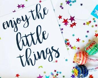 Set of 8 Kids Flatlay Cards, Inspiring Childrens Prints, Mini Print, 5 x 5in print, Flatlay prop, Photo Props, Black and White Mini Prints