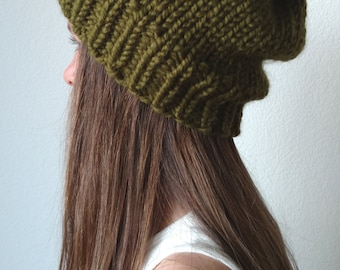 The ANCHORAGE - Knit ski hat - with / without Pom Pom - More colors available