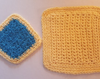 Cloth and Scrubby Set 2piece