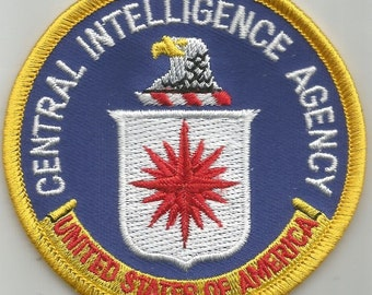 CENTRAL INTELLIGENCE AGENCY Military Patch