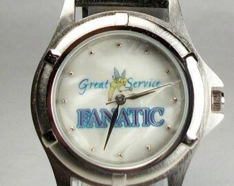 Disney Cast Members Only Tinkerbell Watch! Mother of Pearl! Retired! HTF!