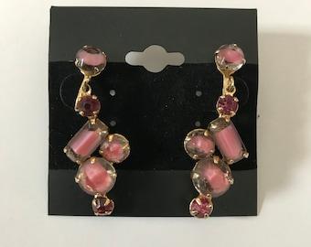 Art Nouveau Style SCREW BACK Earrings