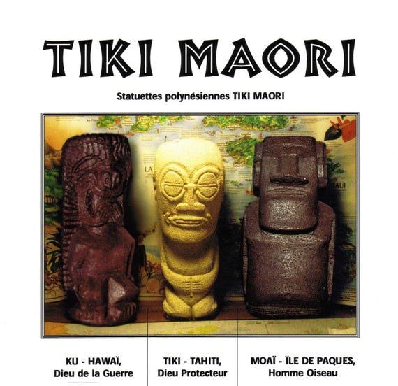 hawaii statuette Polynesian ku Tiki