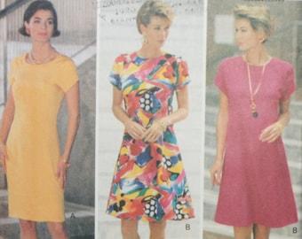 Butterick 5976 Misses Dress Sewing Pattern New/Uncut Size 18-20-22