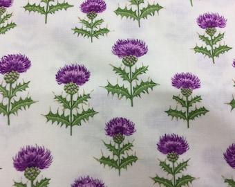 Fabric - Thistles