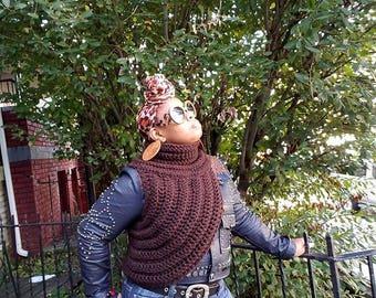 Crochet Katnis Inspired Cowl Scarf