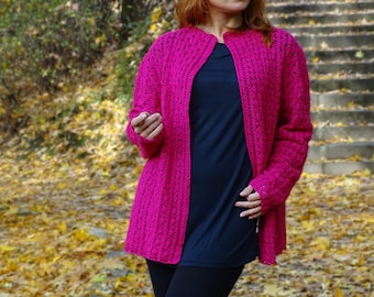 womens cardigan, lace cardigan, crocheted lace cardigan, crocheted cardigan, knit cardigan, knit sweater, open cardigan, ready to ship