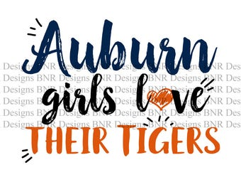 auburn vector etsy rh etsy com Auburn Tigers Logo Black and White Auburn War Eagles or Tigers