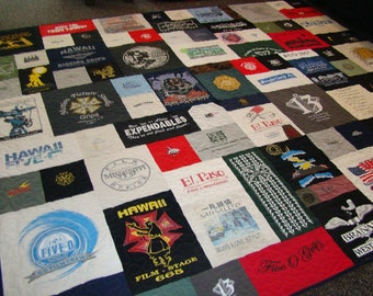 Custom T-shirt Quilt - Cal King - No Money Down