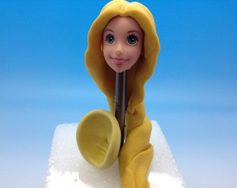 Princess Rapunzel face-silicone mold