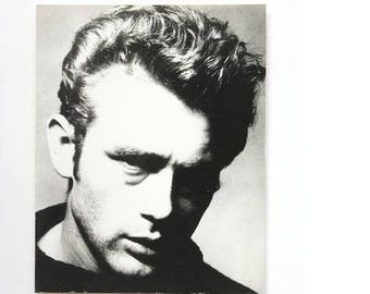 James Dean, Old Hollywood prints black and white, celebrities prints, Hollywood film, analog print