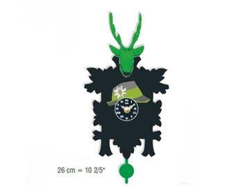 Black Forest avant-garde Cuckoo clock 12 melody Cuckoo call CuckooClocks motif 20