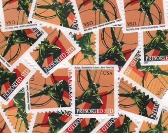 20 Atlas Rockefeller Postage Stamps