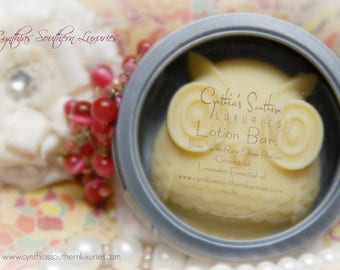 All Natural-Lotion bar-hard lotion bar-Foot cream-hand cream-Honey bee-body butter-skin care-Shea butter-coconut oil- butter-Owl-Lavender EO