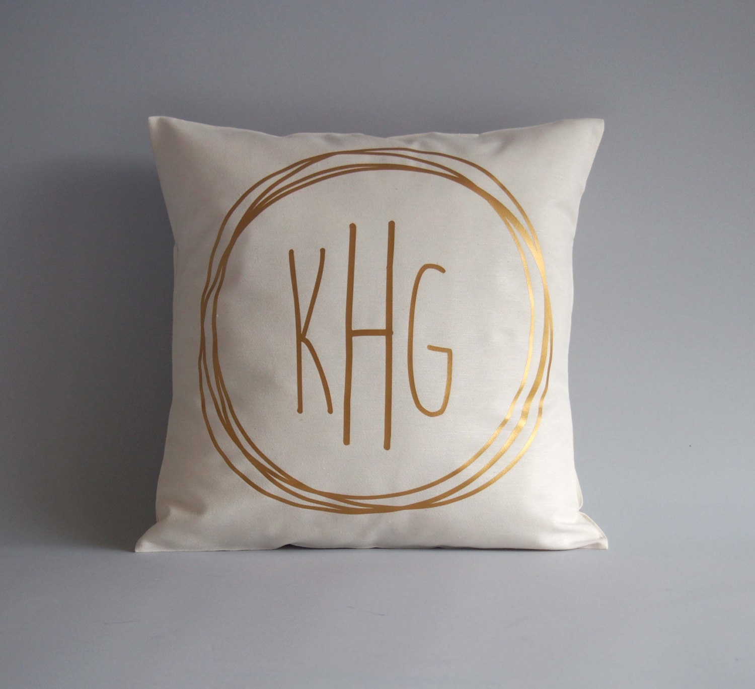 gray pillow large shams medium linen euro of amazon monogrammed and personalized monogram cases white size