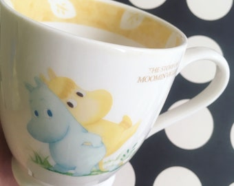 Kawaii vintage The Story Of Moomin Valley white cermaic mugs from Japan for your collection