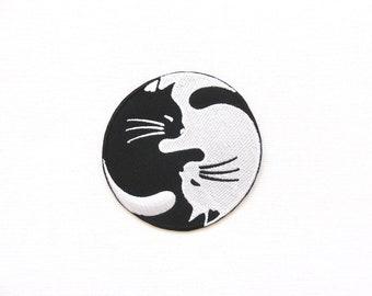 Yin Yang cats patch