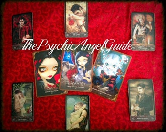 Vampire Love Tarot & Oracle In LIVE VIDEO and JPG