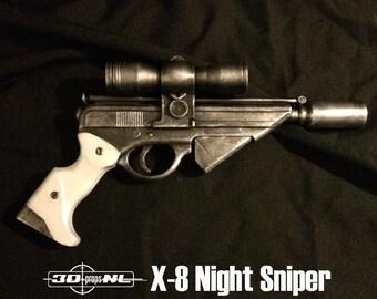 X-8 Ninght Sniper Blaster