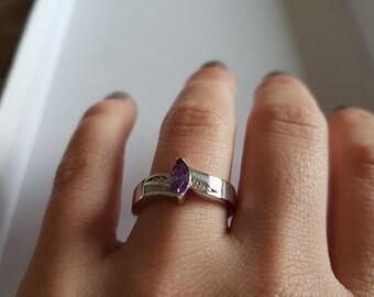 Elegant ring in Gr. 8