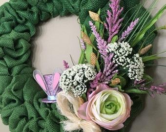 Easter Bouquet Wreath