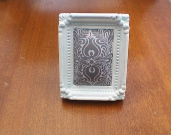 White and Gray Picture Frame, Pin Cushion for Sewing