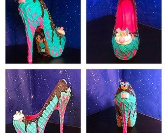 Vanellope Von Schweetz ice cream heels!