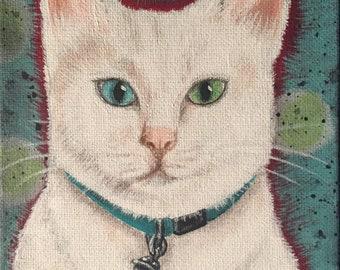 Folk Art Kitty