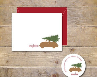 Christmas Cards, Christmas Tree, Christmas Card Sets,  Holiday Card Sets, Holiday Cards, Christmas Tree Day, Handmade Christmas Cards