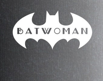 2x Batwoman sticker