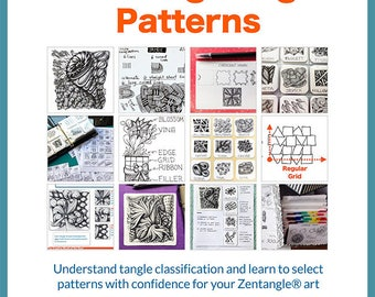 3D Tangle Choosing Tangle Patterns - Download PDF Tutorial Ebook