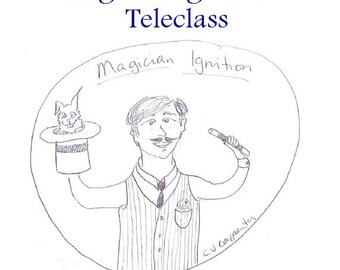 Magician Ignition Teleclass Recording and Workbook - self-development class using the tarot