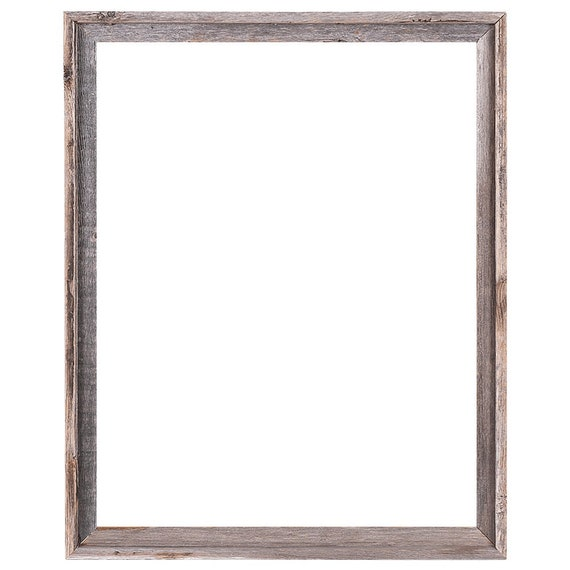 22x28 2 wide Barnwood Reclaimed Wood Open Frame No