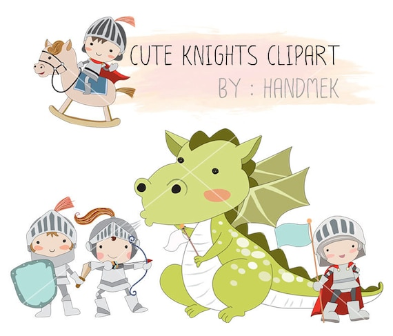 knights clipart dragon clipart instant download png file rh etsy com knights clipart black and white knights clipart black and white