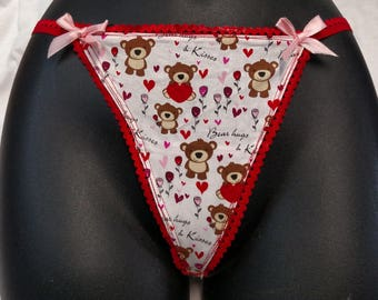 Bear Love Panties