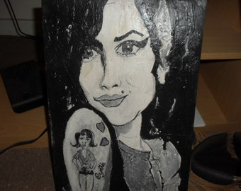 Amy Winehouse Painting.