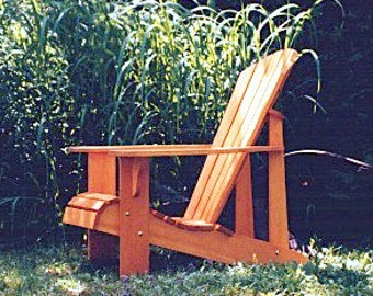Adirondack Chair Plans - DWG files for CNC machines